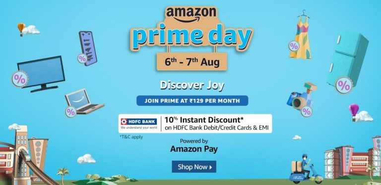Amazon Prime Day 2020 6th - 7th August 1200